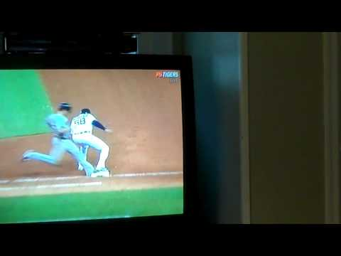 The Detroit Tigers almost perfect game blown by a horrible call