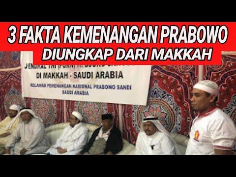 DARI MEKAH, HABIB RIZIEQ UNGKAP 3 FAKTA PRABOWO MENANG PILPRES 2019;SURVEY INDEPENDEN;ULAMA HABAIB;S