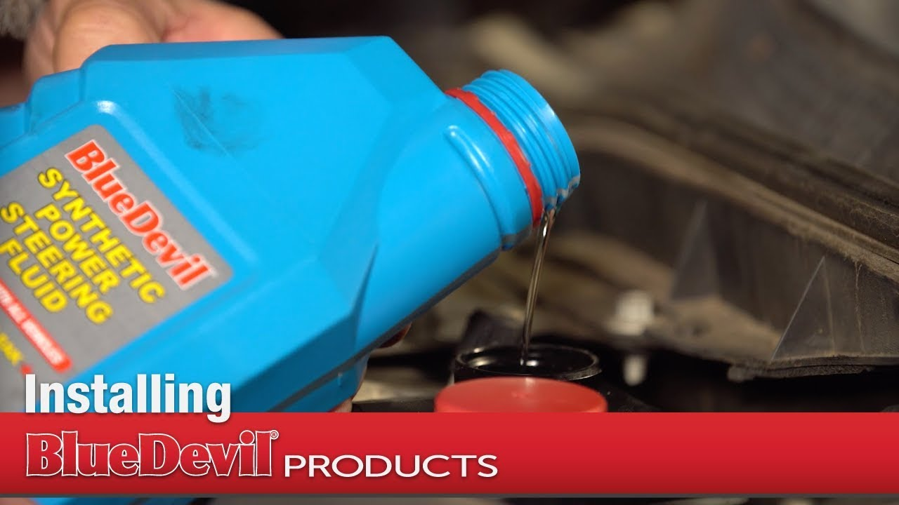 How to Install BlueDevil Synthetic Power Steering Fluid