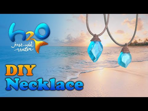DIY H2O Just Add Water Necklace!