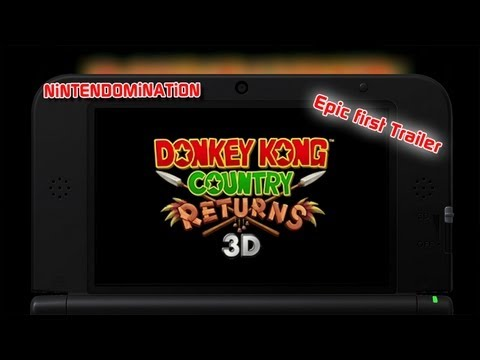 Donkey Kong Country Returns 3D - Trailer in perfect Quality