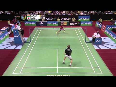 SF - MS - (Highlight) - Anand Pawar vs Kenichi Tago - 2013 Yonex-Sunrise India Open