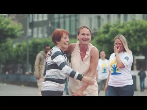 Celebrations of International Day of Yoga in Frankfurt on 21 June 2016