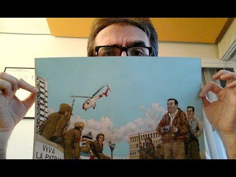 ARDE CUBA comic de Agustin Ferrer Casas GRAFITO EDITORIAL portada
