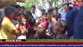 नालासोपारा में युवाओ ने गरीब बच्चो के साथ मनाई दीवाली।