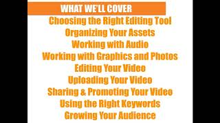 Webinar - Tools to Edit Your Digital Story and Get it Watched by Your Target Audience