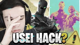 USEI HACK NO MUNDIAL DE POPUPCUP DO FORTNITE?!