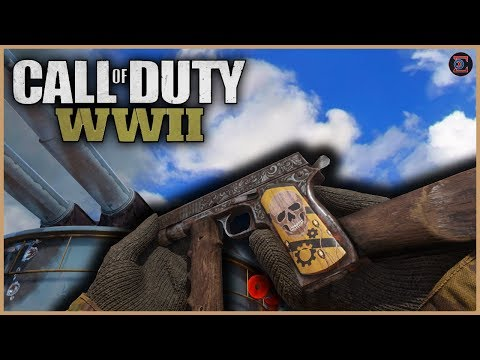 Road to Chrome Camo #16 - M1911 Pistol - (31/36 Guns Completed) - Call of Duty WW2
