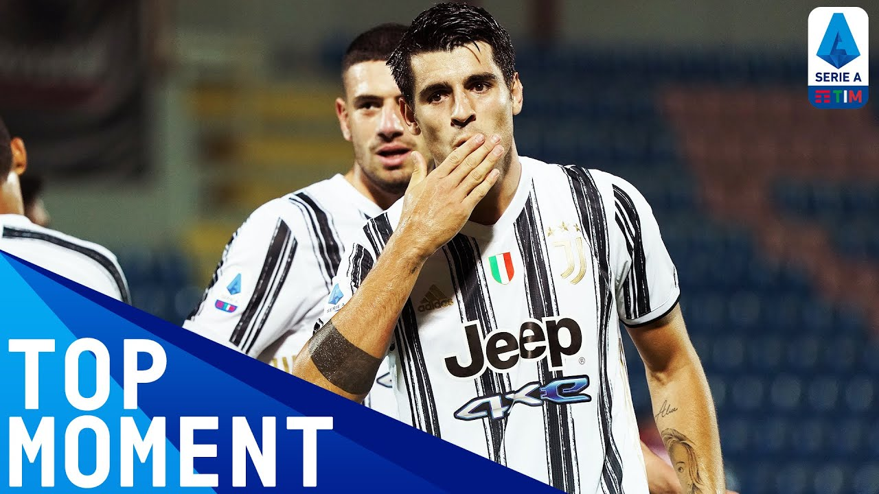 Morata Scores and Chiesa Makes Debut Assist! | Crotone 1-1 Juventus | Top Moment | Serie A TIM