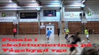 Repeat youtube video Finale i skoleturneringa Vågsbygd vgs 2014