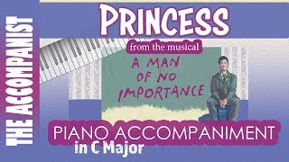Princess - from the musical 'A Man Of No Importance' - Piano Accompaniment - Karaoke