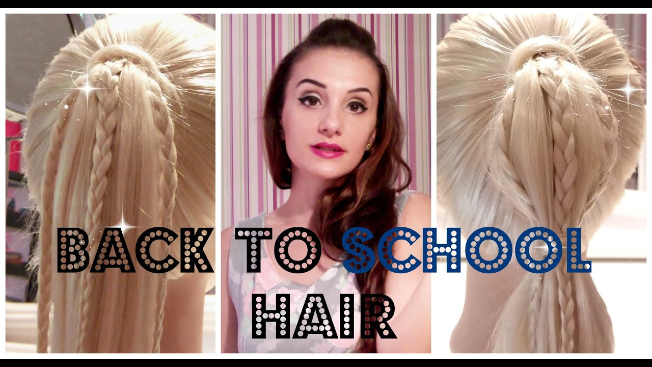 Hairstyle for girls for school
