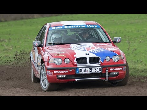 [ONBOARD] 10. Visselhöveder Herbstrallye - 2019 - Alexander Brase - Sabrina Hey - BMW E46 318ti