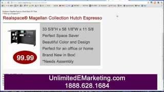 Craigslist Advertising Clickable Image Ad Design & Hosting Service