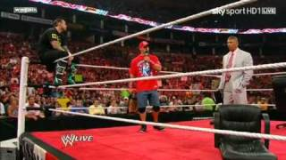 CM Punk Owns Vince & Cena Part 2