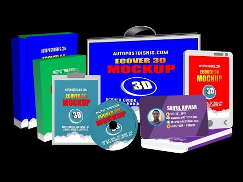 panduan-cara-membuat-ecover-3d-mockup-dengan-powerpoint