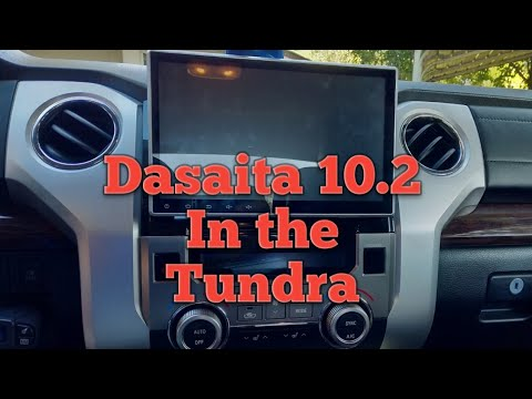 Installing The Dasaita 10.2 In The Tundra