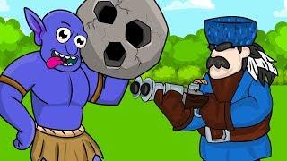 Clash Royale Animation #9: HUNTER VS KING (Parody)