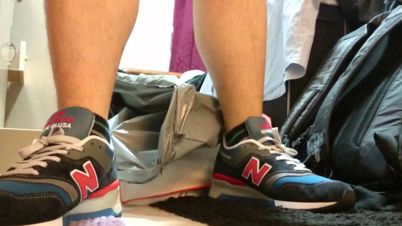 New Balance 997 JNB Connoisseur on feet - YouTube fcc7ee42b751