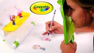 crayola sketch wizard draw any toy quick and easy peppa pig and disney frozen toys
