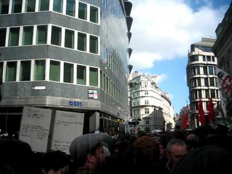 G20 Protests. April 1st 09.