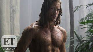 Margot Robbie Talks Kissing Alex Skarsgard, Seeing His Shirt Off | Legend Of Tarzan