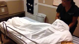 Cna Skill #13 Make An Occupied Bed