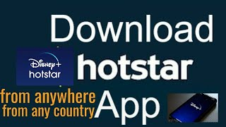 How To Download Disney Plus Hotstar VIP Outside India For FREE|| In 2021 For FREE In Your Phone|
