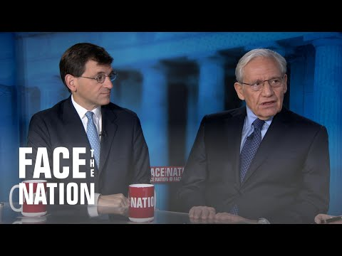 """A war room of one"": Bob Woodward and Peter Baker talk Trump impeachment"