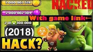 [Clash of clans HACK!!!] ep.1 (2018)
