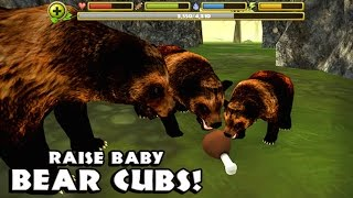 Wildlife Simulator: Bear -  By Gluten Free Games -Compatible with iPhone, iPad, and iPod touch.