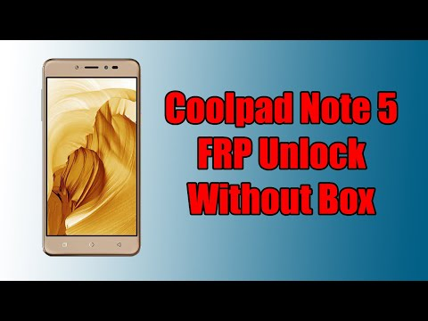 Remove Coolpad Mega 2 5d Frp by UMT Dongle