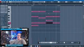 Lofi Hip-Hop with a Gorgeous Pianet Loop [Cubase Music Production | UK]