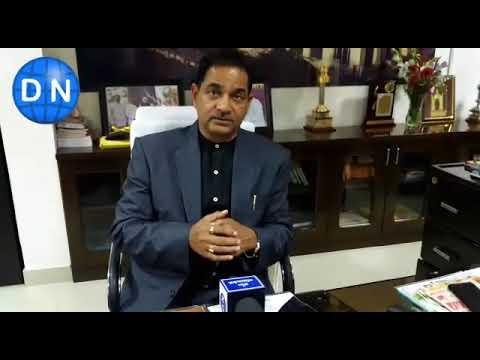 वेलेंटाइन-डे आदेश पर डाइनामाइट न्यूज से बात करते लखनऊ विश्वविद्यालय कुलपति प्रोफेसर एसपी सिंह