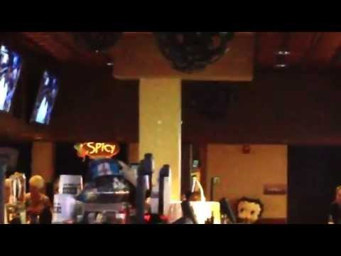 Elvis at Spicy's Restaurant & Bar in Seaside Heights NJ - Aug 2015