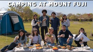 Japanese Camping and BBQ Experience Near Mt. Fuji 🗻