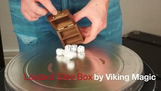 Loaded Dice Box by Viking Magic