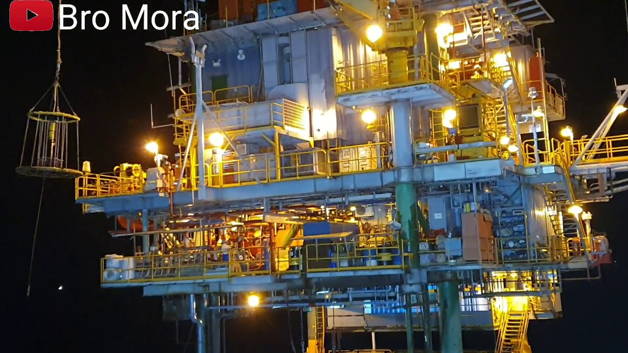 Oil Platform Crew Change-Personal Basket