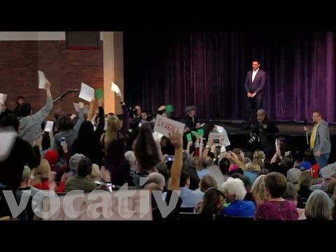 Utah Representative Jason Chaffetz Booed At Town Hall