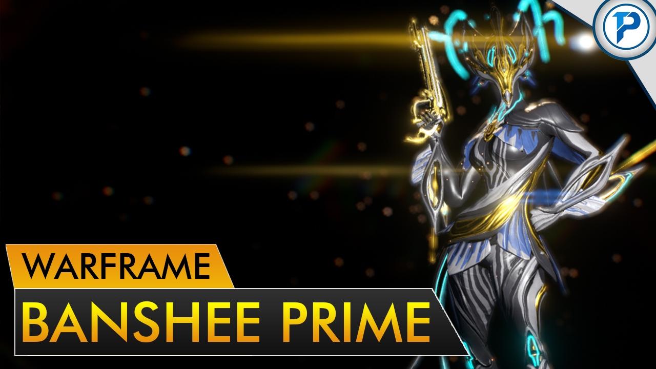 Banshee prime warframe