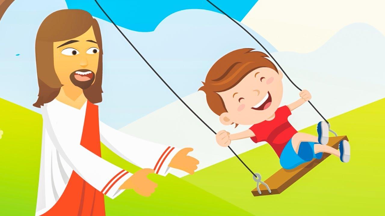 ♫ Jesus Nosso Amigão - Turminha do Rei - Música Gospel Infantil