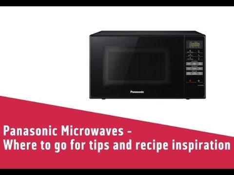 the Clock on your Panasonic Microwave