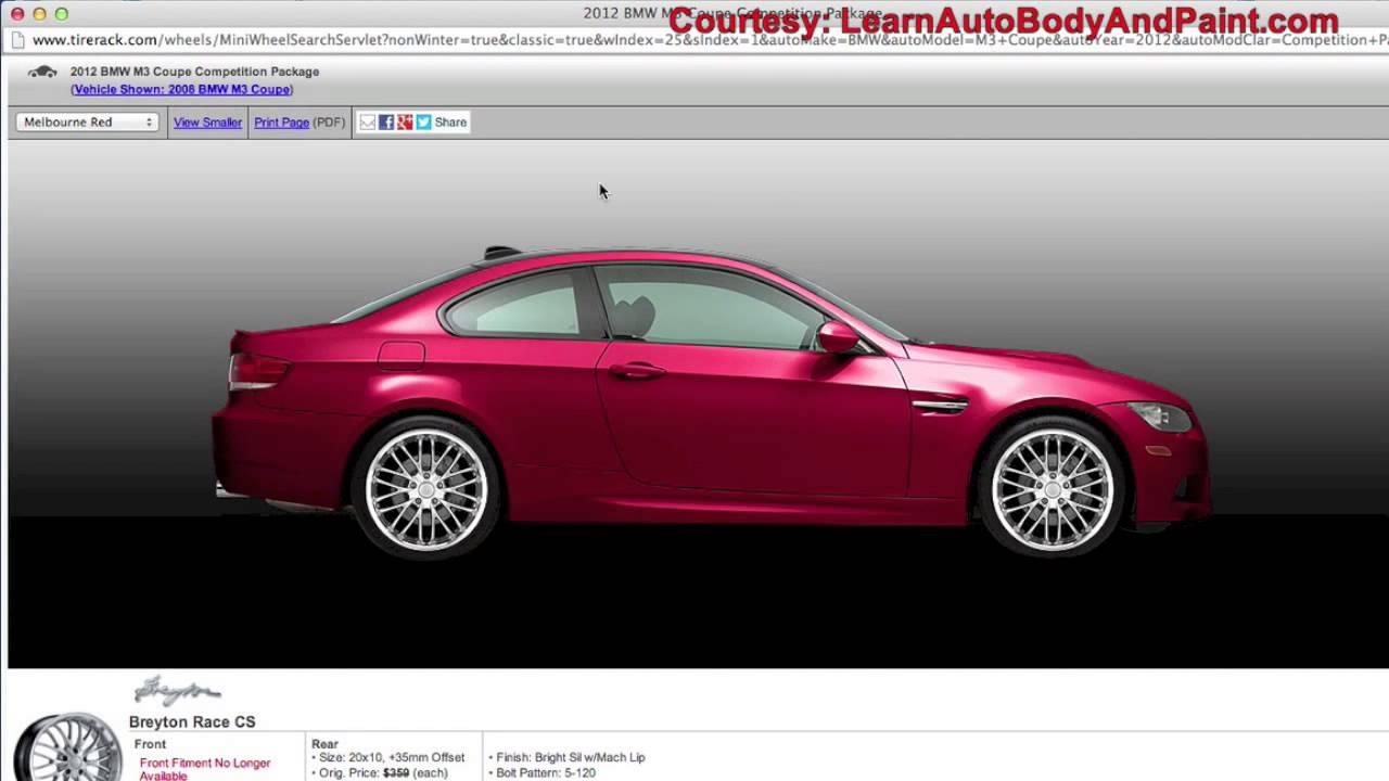 Custom Auto Design Software