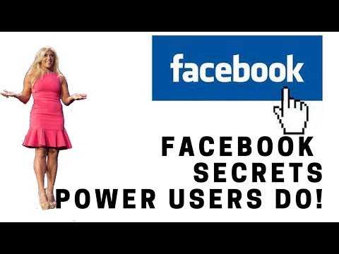 Facebook Secrets that POWER USERS Do