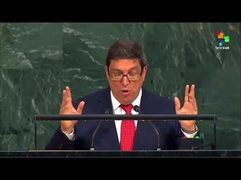 UN Speeches: Cuban Foreign Minister Bruno Rodriguez