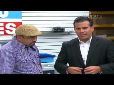 Ricky Rosello con Maneco
