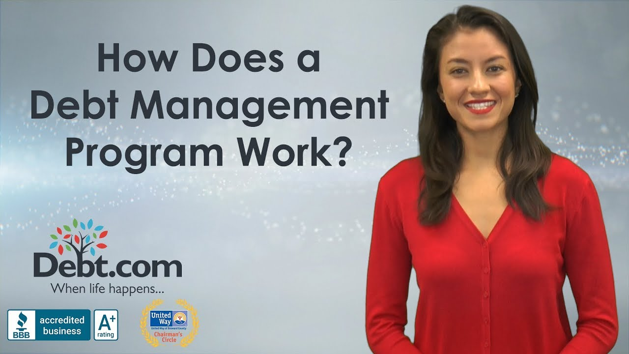 How Does A Debt Management Program Work - YouTube
