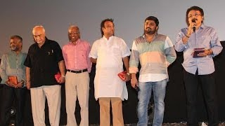 Leading Producers at Kadhai Thiraikadhai Vasanam Iyakkam Audio Launch