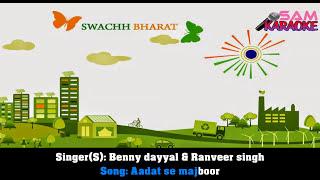 Aadat Se Majboor _Karaoke Sam Karaoke