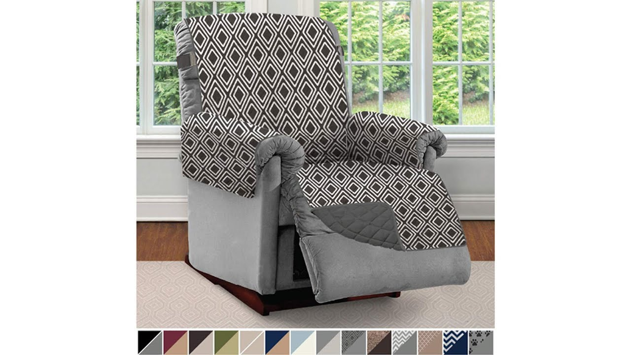 The Original SOFA SHIELD Reversible ~ Chair ~ Recliner ~ Slipcover ~ Protector